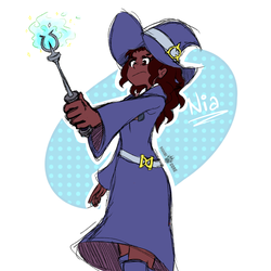 LWA OC: Nia by KyuubiCore