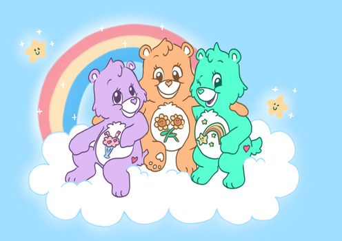 Care Bear Countdown by DonkeyInTheMiddle