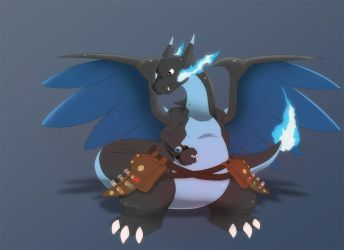Vulcan - The Power Obsessed Charizard by That-Stupid-Dingo