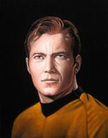 Captain James T. Kirk by BruceWhite