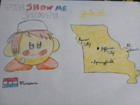 Kirbytalia (US states) - Missouri by Genie92