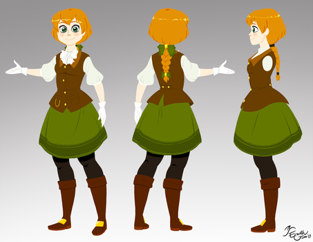Alana Valenwood Concept by EarthGwee