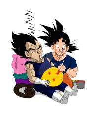Dragon Ball belly (remake) by cowcat44