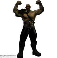 Orc Cry of War png by Direwrath