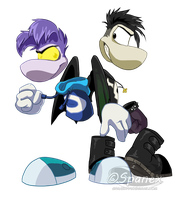 AT: Darkray and Jacob by Pipann