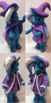Standing Trixie/ Wizard in the winter by agatrix
