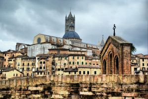 Siena Skyline by ottomatt