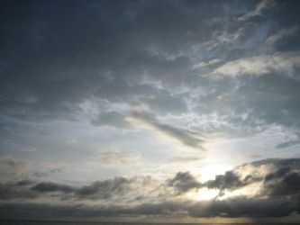 Sky time over the waters by citad3l