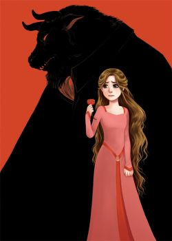 Beauty and the Beast by courtneygodbey