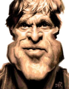 Robert Redford by wooden-horse