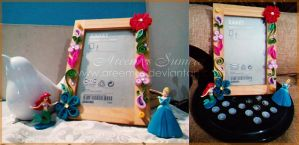 Quilled Photo Frame by areemus