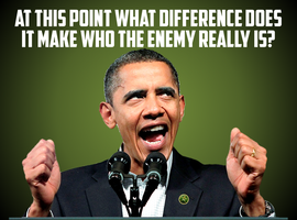 What Difference Does It Make Who The Enemy Is? by CaciqueCaribe