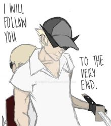 I Will Follow You to the Very End by Aerotyl