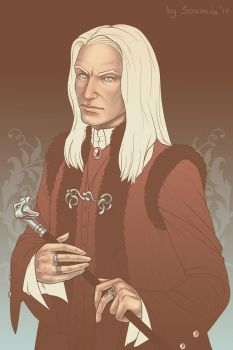 Palette 16 - Lucius Malfoy by Soumin