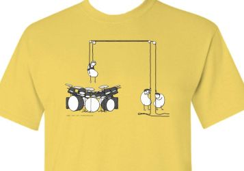Super Drummer T-Shirt by RyanJGill