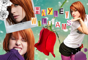 Hayley williams - Paramore by Satellite--Heart