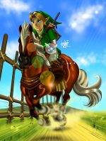Ocarina-Of-Time-3D by manukongolo