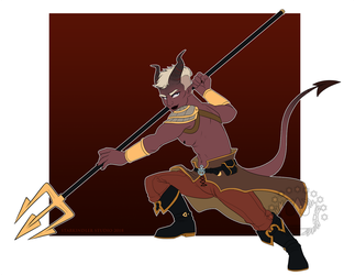 Commission: Bo Arlwyn by StarkindlerStudio