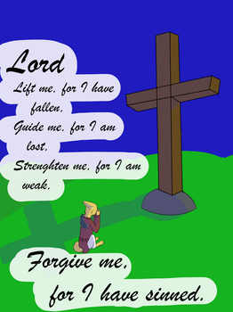 A Prayer to the Lord by Lt-Fennec