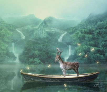 Journey With My Deer Friend by Cold-Tommy-Gin