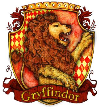 Gryffindor house by Lily--Lu