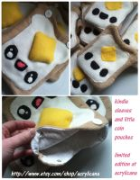 Happy Toast Pouches by marywinkler