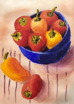 Peppers 1 of 8 by kiwinessie