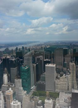 View from the Empire State by luijo