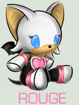 Sonic Plushie Collection:Rouge by Omnicenos