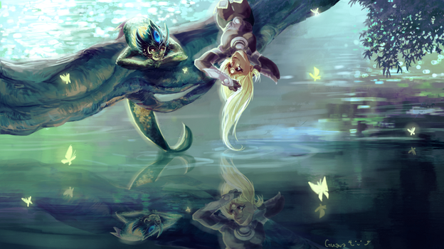 Diana and Nami by Guava-Pie