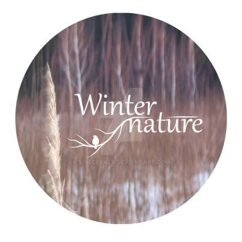 Winter Nature round shape by SineCeraLS
