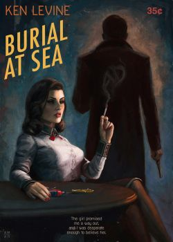 Burial At Sea - 50's paperback by astoralexander