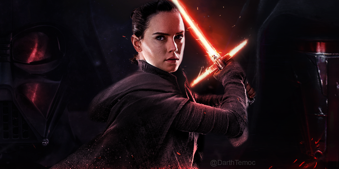Darkness Rises (Kylo's lightsaber) by DarthTemoc