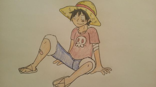 Just Luffy by XfangheartX