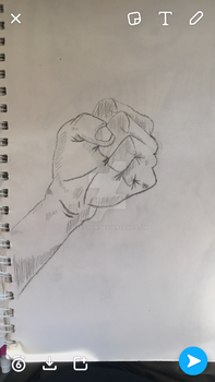 My hand by keeshon