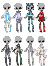 .:Adopted:. Outfit Batch 08 by DevilAdopts