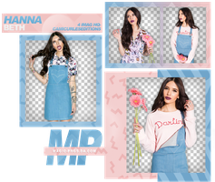PACK PNG 904| HANNA BETH by MAGIC-PNGS