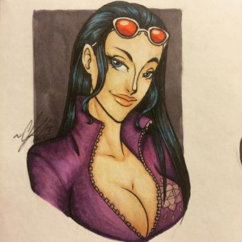 Devil Child Nico Robin by RaeQuinnArt