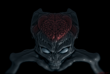 Martian zbrush sketch by cinemamind