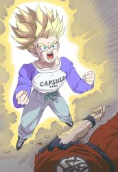 Trunks Becomes the Future's Last Hope by Pseudonym367