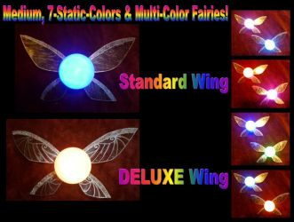 New Medium, Multi-Color Fairies for my Store! by Linksliltri4ce