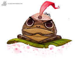 Daily Painting #855. Frog Genie by Cryptid-Creations