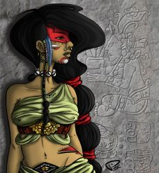Mayan Girl by Puru2