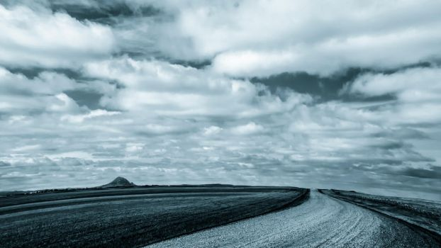 The Road to Bear Butte by BWilliamWest