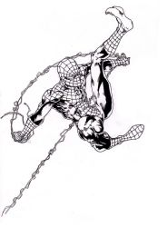 Back with a Spider-man Ink by ParisAlleyne
