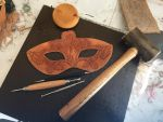 June's Birth Flower Mask WIP1 by Angelic-Artisan