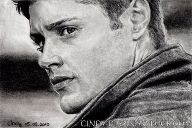 Dean Winchester by cindy-drawings