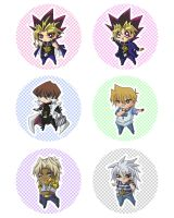YGO Chibi Set by suikasiren