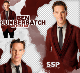 Png Pack 3837 - Benedict Cumberbatch by southsidepngs