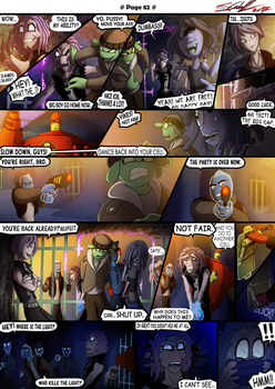 P.U. - Adventure Page 82 by Hevimell
